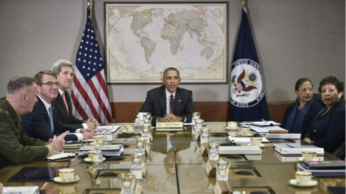 Obama To Discuss Airstrikes On Syrian Military Positions