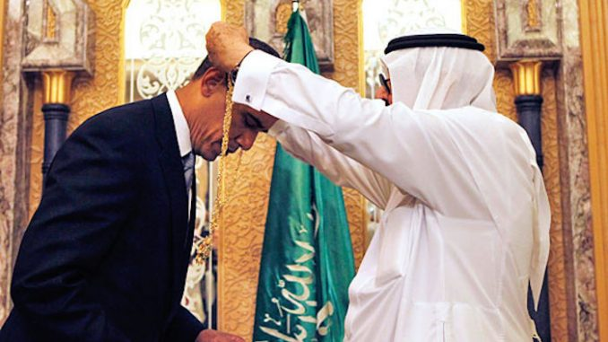 WikiLeaks cables reveal that Obama is a Saudi agent