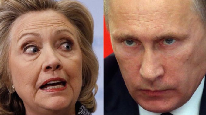Vladimir Putin warns Hillary Clinton of dire consequences if she continues lying about Russia