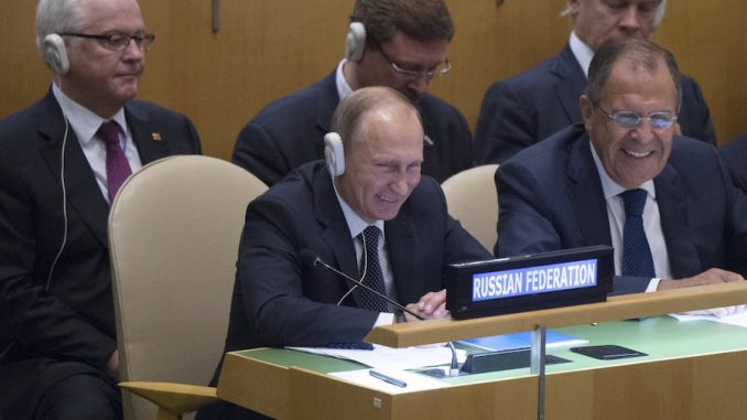 Russia vetoes UN attempt to stop Russia from fighting ISIS in Syria