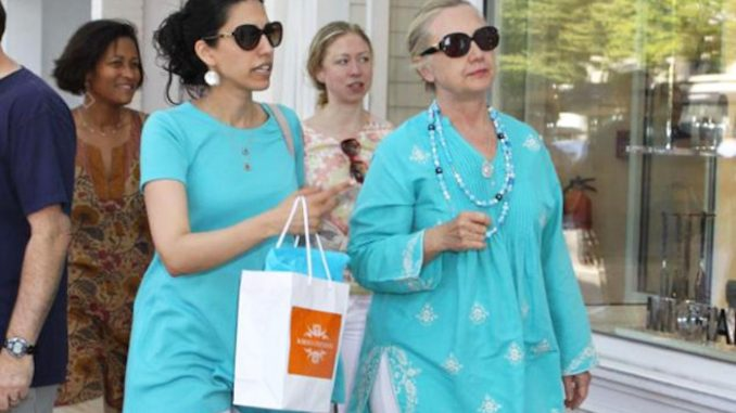 Hillary Clinton sold State secrets to Middle East via Huma Abedin
