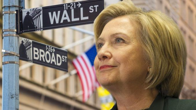 Embarrassing excerpts from Wall Street speeches given by Hillary Clinton prove that she is the 'Wall Street candidate'.
