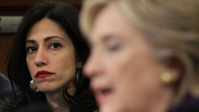 Huma Abedin is seeking an immunity deal with the FBI following James Comey's announcement that the agency have reopened their investigation into Hillary Clinton's use of a private email server.