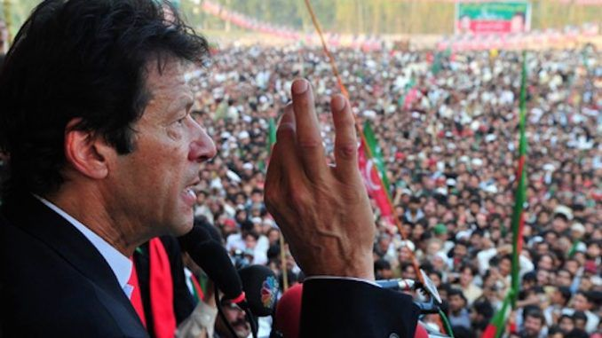 Imran Khan says that India is trying to completely destroy Pakistan