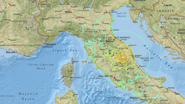 Two Powerful Earthquakes Strike Central Italy