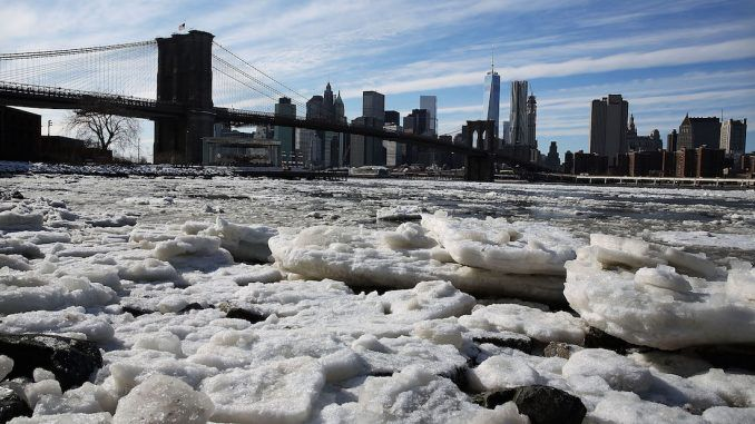 So much for global warming - the earthis heading towards a mini ice age within 15 years, according to experts at Northumberland University.