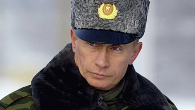 Vladimir Putin has ordered 40 million people across Russia to take part in a military drill preparing for 'imminent nuclear bombardment'.