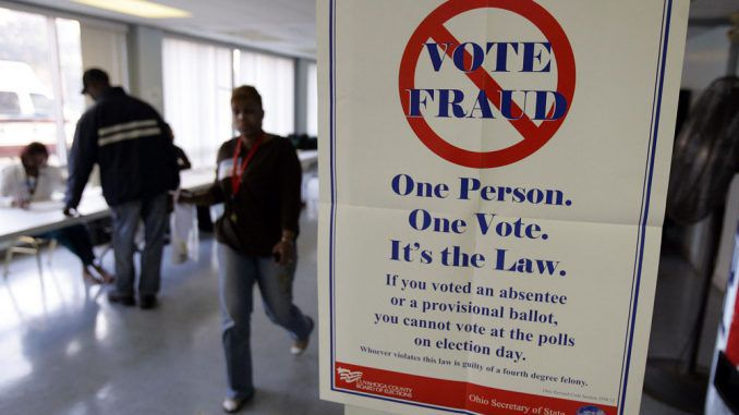 US officials say that if anybody produces evidence of voter fraud in the coming weeks, it will be blamed on a Russian plot.