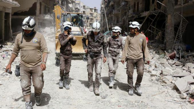 Are Foreign-Funded White Helmets Supporting Terrorists In Syria?