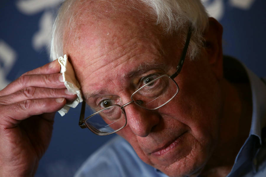 Bernie Sanders has warned that he will do everything in his power to fight Hillary Clinton should be be elected President.