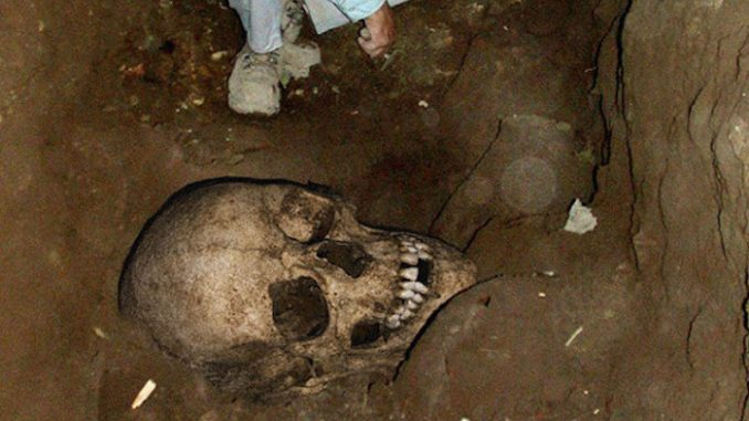 Cemetery of giants discovered in central Africa