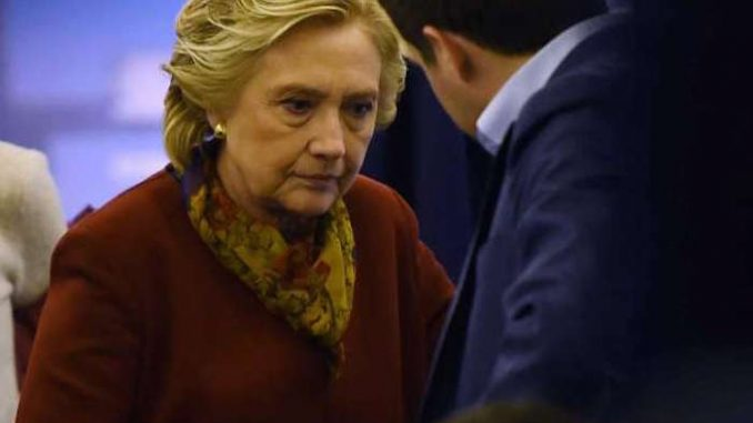 Rumors circulating that Clinton will drop out of presidential race this week