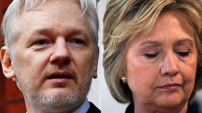 Clinton campaign warn media to ignore 'smoking gun' WikiLeaks release this week
