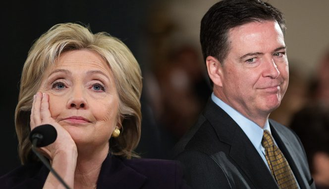 James Comey clears Hillary Clinton causing mutiny at the FBI