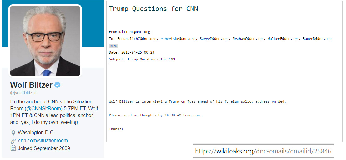 Corrupt News Network: exposed as a PR firm for the Clinton campaign.
