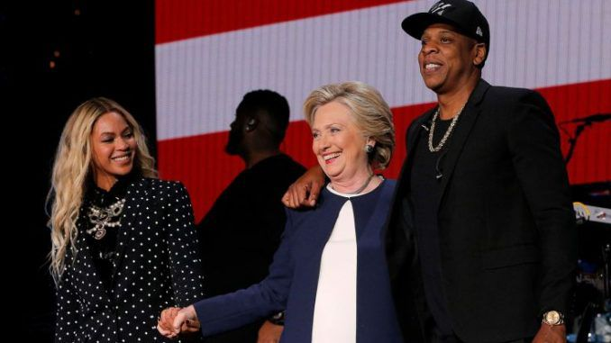 Jay Z and wife Beyonce have announced plans to run for President in the 2020 race, with Hillary Clinton and Barack Obama's blessing.