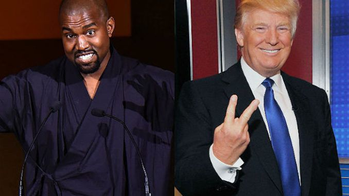 Kanye West has announced that he supports Donald Trump as President