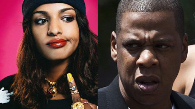 One day after Jay-Z appeared on stage with Hillary Clinton and endorsed her for president, a pro WikiLeaks music video by M.I.A, released on Jay-Z's RocNation label, has been censored and pulled from the internet.