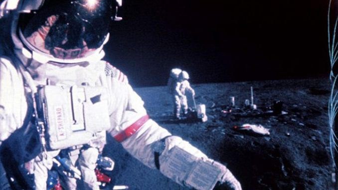 All NASA astronauts see 'flashing lights' when approaching the moon