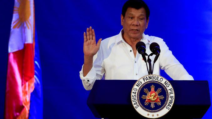 Duterte Says Philippines May Pull Out Of ICC