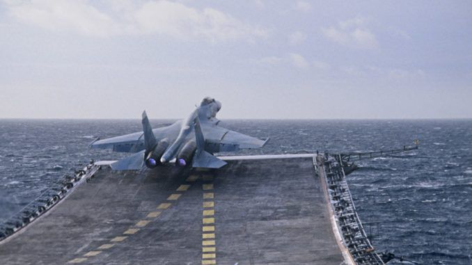 Russian Aircraft Carrier Jets Launch First Strikes Against ISIS In Syria