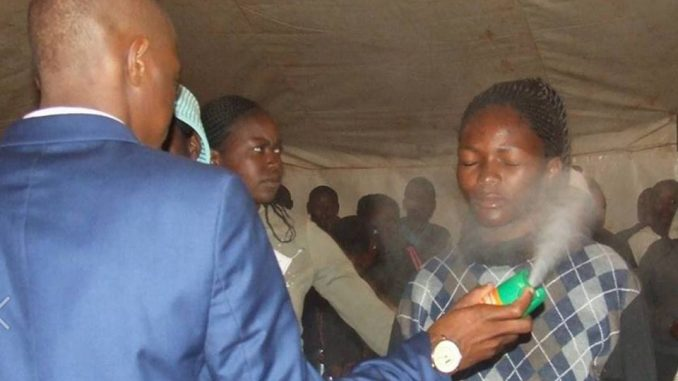 Outrage As South African Pastor Uses Insecticide To 'Heal' Cancer & HIV
