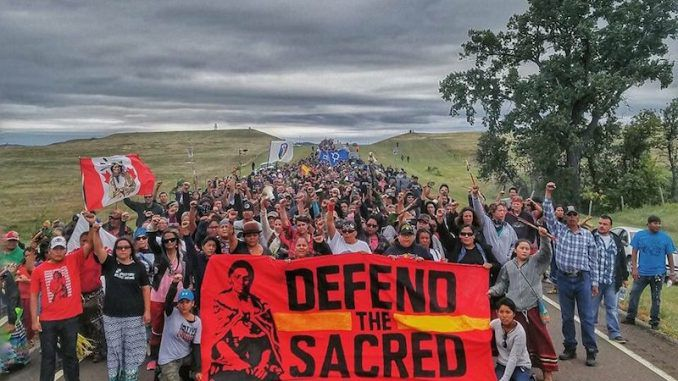 Water Protectors Defy US Army Corps' Camp Eviction Threat