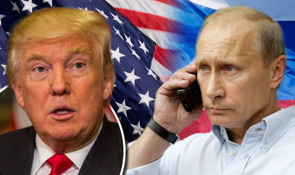 Putin & Trump Discuss Syria And US-Russia Relations