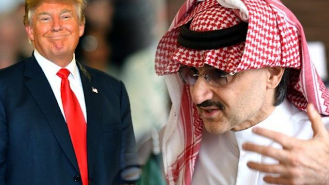"President-elect Donald Trump has announced plans to create ""complete American energy independence"" and ban Saudi Arabian oil from the U.S. market - and the Saudis have begun to panic."