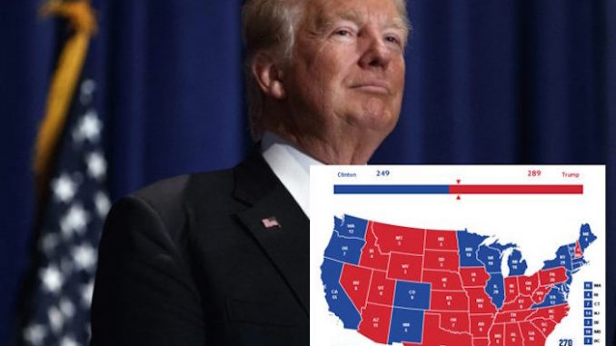A computer scientist has devised software showing Trump winning the presidency using Google and Facebook algorithm data