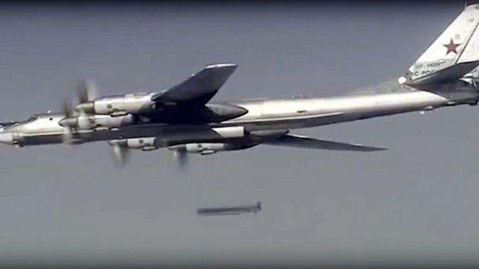Russia Strikes ISIS & Al-Nusra With Cruise Missiles