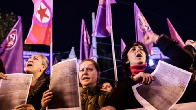 Thousands Protest Proposed Child Sex Abuse Bill In Turkey