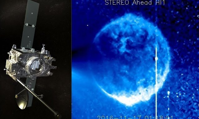 Mysterious Blue Sphere Captured By NASA Cameras