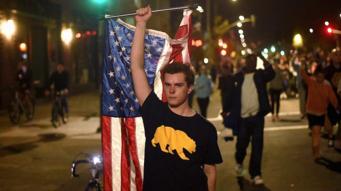 Millennials in Los Angeles on 'suicide watch' as they call for #Calexit following Trump win