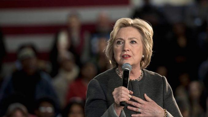 A scheduled speaker at a Hillary Clinton rally went off-script and began listing reasons why the audience shouldn't vote for her - until he was physically removed from the stage!