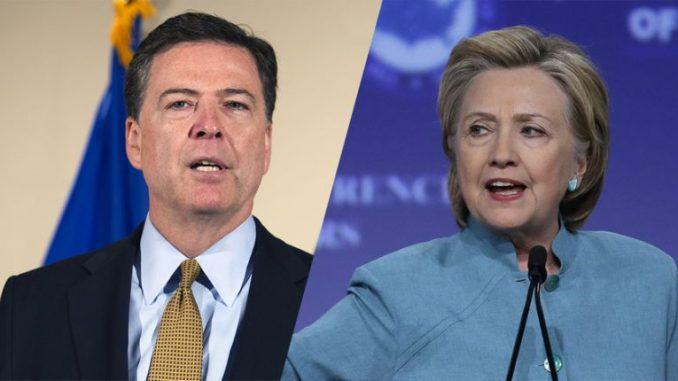 FBI Director Recommends No Charges For Clinton