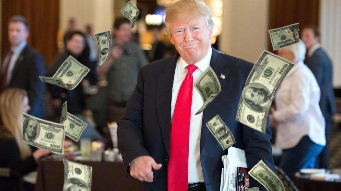 Dollar hits an all time high thanks to Trump win