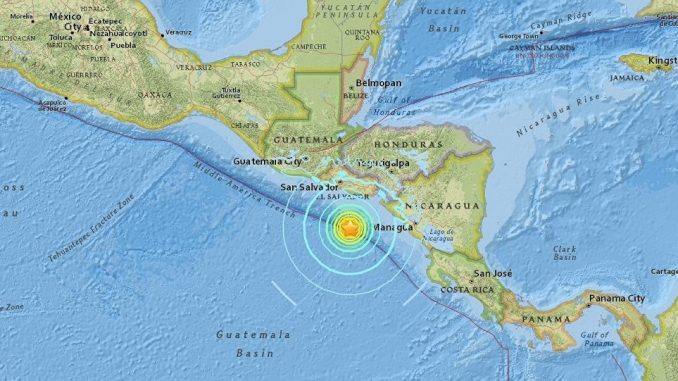 Tsunami Alert Issued After 7.0 Quake Strikes Off Central America Coast