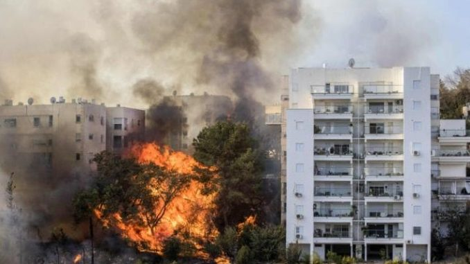 Tens Of Thousands Evacuated As Wildfires Rage In Israel