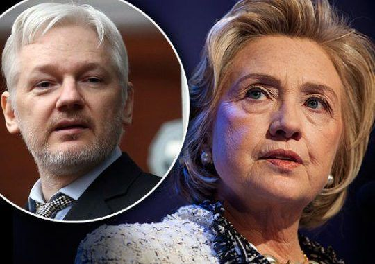 WikiLeaks Did Not Receive Clinton Emails From Russia -Assange
