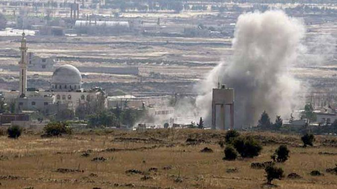 Israel Strikes ISIS Linked Group In Syria After Cross Border Attack