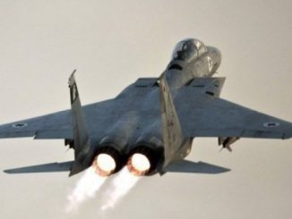 Israeli Jets Launch Airstrike Near Syrian Capital Damascus