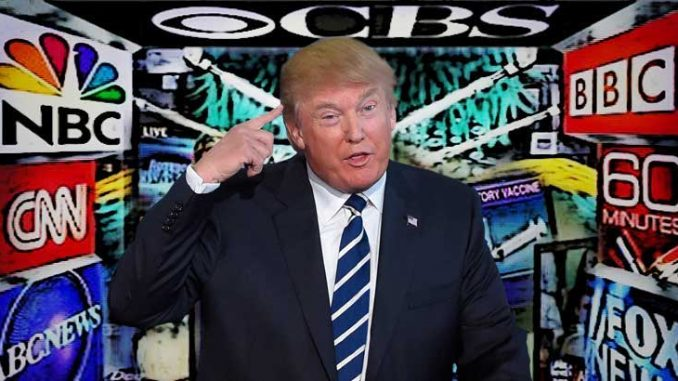 Donald Trump has renewed his attack on American mainstream media, blasting the New York Times for spreading fake news and banning reporters who he claims have been proven untrustworthy.