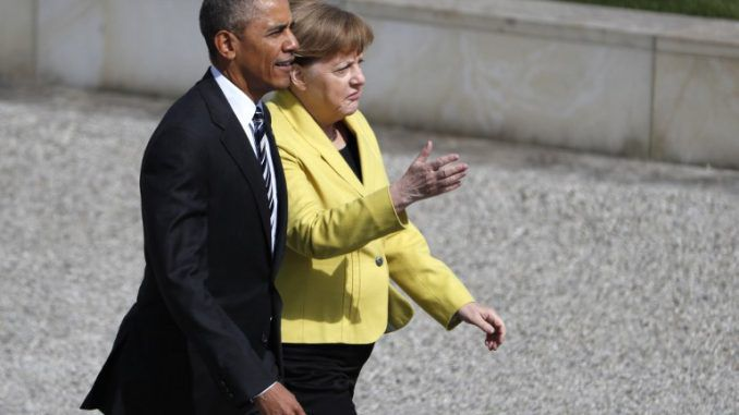 Obama And Merkel Say Globalization Is Here To Stay