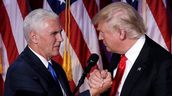 Pence Appointed As Chair Of Trumps Transition Team