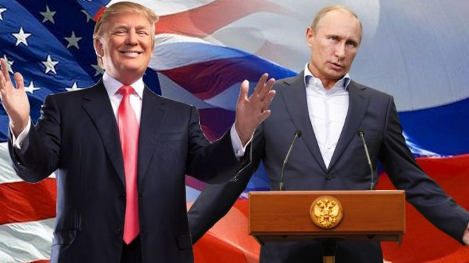 Vladimir Putin has vowedthat the New World Order will be dismantled and Russian-US relations restoredwhen Donald Trump enters the White House.