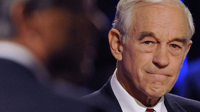 Ron Paul warns Trump that the Shadow Government are out to destroy him