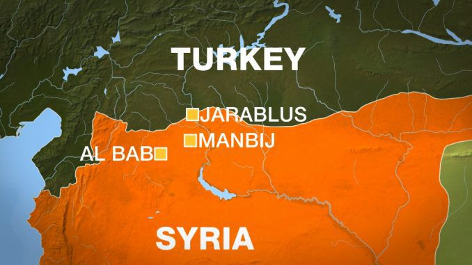 Turkey Launches Airstrikes On City In Northern Syria