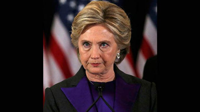 Hillary Clinton could have lost the election due to a simple typo