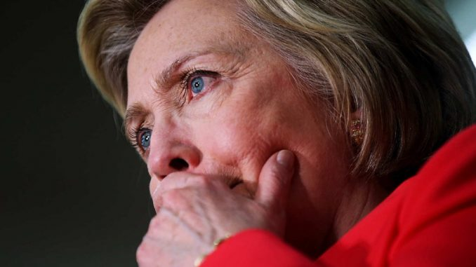 Hillary Clinton upset after losing popular vote